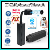 Spy Camera Telescopic Wifi Built in Battery - Mini Hd ip Cam T1