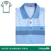 Crocodile DIAMOND 1650 Light Blue - Baju Kaos Kerah Pria Men Polo