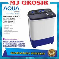 MESIN CUCI AQUA JAPAN QW850XT 8KG 2 TABUNG 850XT 8 KG 850 HIJAB SERIES