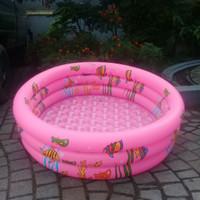 kolam renang anak 110cm crystal sainteve Pink