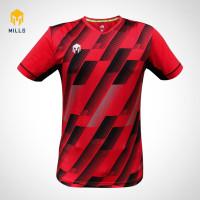 MILLS Baju Olahraga Jersey Sepakbola Futsal Soccer Eagle Shield 1011 - Merah, M