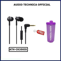 Audio Technica Ath-CK350iS Earphone WIth Mic CK350 IS CK 350 CK350iS
