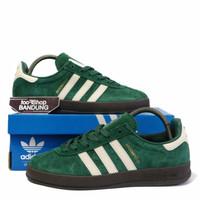 Sepatu Sneakers Casual Adidas Broomfield Green White Gum Premium BNIB - 40