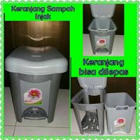 15 Liter Tempat Sampah Injak / Tong Sampah / Keranjang Sampah