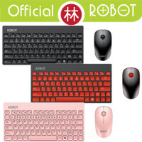 Robot KM3000 Portable Mini Wireless Keyboard