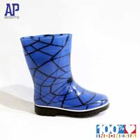 AP BLUE SPIDER 15.0-18.0 - SEPATU BOOTS KARET ANAK COWOK - AP BOOTS