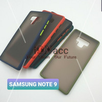 Samsung Galaxy Note 9 Soft Case Matte Armor Colored Froasted Macaron