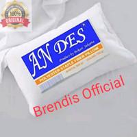 Bantal kepala ANDES isi full silikon kualitas hotel