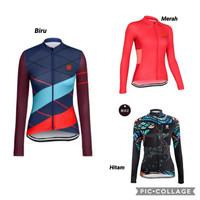 Baju Sepeda Lengan Panjang Wanita Multicolor / Long AO Long Sleeve LO3