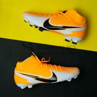 Sepatu Bola Nike Superfly 7 Academy FG - Laser Orange AT7946-801 Ori