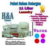 Detergen Laundry Cair   Bahan Detergen Laundry 11 Liter Rendah Busa - Ungu