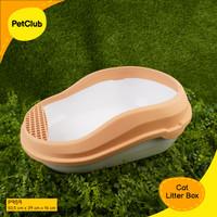 Richu Tempat Pasir Kucing Jumbo / Bak Pasir Besar / Big Cat Litter Box - Beige