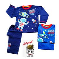 SPACE ADVENTURE Baju rumah BAJU TIDUR Anak Co Celana/Lengan panjang.