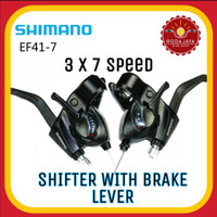 SHIMANO ST-EF41 Shifter Sepeda 3 x 7 Speed
