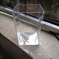 soliter aquarium cupang fiber tempat ikan cupang Guppy dll 2L