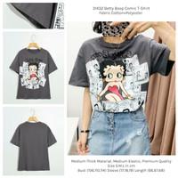 Betty Boop Comic T-Shirt (size S,M,L) -31432
