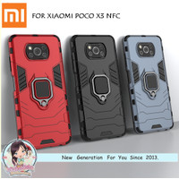 Case Xiaomi POCO X3 Transformer i Ring Stand Magnetic Holder Hardcase