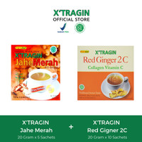 PAKET BUNDLING 1 BOX RED GINGER 2C & 1 BOX JAHE MERAH