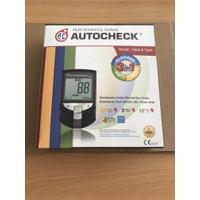 Autocheck 3in1 GCU Glucotes Autocek 3 in 1 Kadar Gula Darah Kolesterol