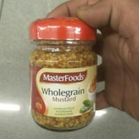masterfoods wholegrain mustard 175gr