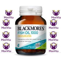 Blackmores Odourless Fish Oil 1000 30 Kapsul KALBE