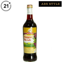 anggur merah gold cap orang tua 620ml
