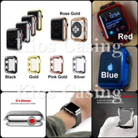 Apple Watch 42MM 42 MM - Soft Case Chrome Silikon Cover Jelly Casing