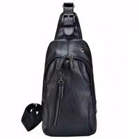 Tas Selempang Pria - LT02 Bag Hitam Premium