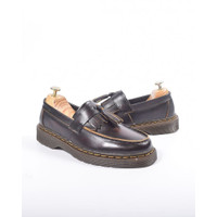 SEPATU KULIT AZCOST FOOTWEAR LOAFER BURGUNDY ORIGINAL