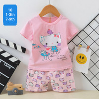 stelan baju anak perempuan premium / baju anak import umur 7 - 9 Tahun