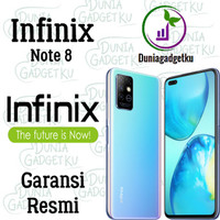 Infinix Note 8 6/64 & 6/128 GB Garansi Resmi , IMEI terdaftar - 6GB 64GB, Deepsea