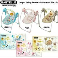 Boncer Swing Baby Elle Angel Ayunan Bayi Electric Bouncer Ayun Bayi