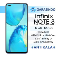 Infinix Note 8 6/64 GB 6GB 64GB Garansi Resmi Infinix