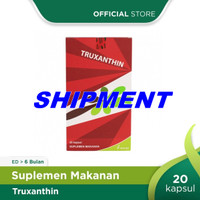 SHIPMENT TRUXANTHIN BOX 20 KAPSUL KALBE TRUXANTIN ANTI OKSIDAN AGING