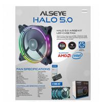 ALSEYE SERIES HALO 5.0 4FAN KIT Auto RGB FAN CASE