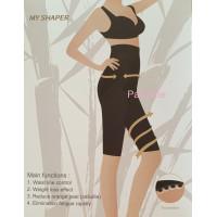 PANACHE Far Infrared Short Tourmaline Bamboo Slimming Pant Korset
