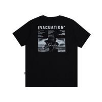 Dobujack Tshirt Evacuation Black Tees