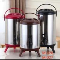 Water Jug Milk Tea Bucket Stainless Steel 8L - Drink Jar
