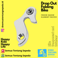 Drop Out - Anting RD - Sepeda Lipat Fnhon Dahon Element Pacific United
