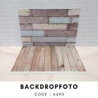 alasfoto lipat motif backdrop foto A490