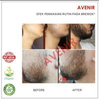 Asli original Avenir Beard Oil Plus - With Minoxidil & Vitamin E.