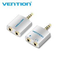 Vention Splitter BDA BDB Aux Audio Mic 3.5mm 3,5mm Spliter Male Female
