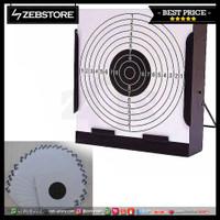Shooting Paper Kertas Target Perbakin 17x17cm 25pcs