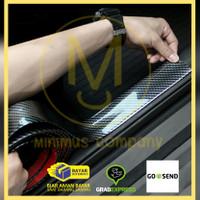 pelindung lips bamper sticker vinyl carbon fiber mobil