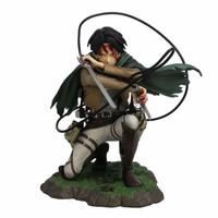 Attack on Titan Anime Captain Levi Berserk Mode PVC Figure