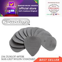 JIM DUNLOP 449P.88 MAX-GRIP NYLON STANDARD GUITAR PICK