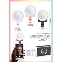 XM777-1 LAMPU SELFIE RING LIGHT MIRROR TEMPEL / LAMPU BIGO / LAMPU SEL