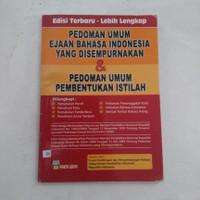 BUKU PEDOMAN UMUM EJAAN BAHASA INDONESIA YANG DI SEMPURNAKAN