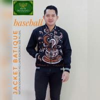 Sekopi Jaket Batik Solo Lapis Furing Bomber Batik Terbaru jaket B pria