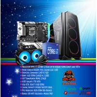 PC GAMING i7 10700F/RTX 3060 Ti 8GB/16GB DDR4GB/NVME 256GB MANTULLL